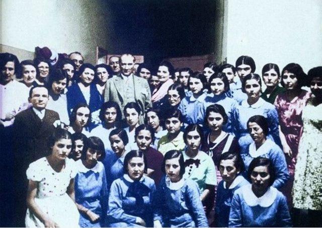 Atatürk'ün bilinmeyen fotoğrafları (18)