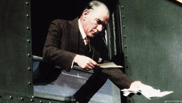 Atatürk'ün bilinmeyen fotoğrafları (20)