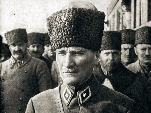 Atatürk'ün bilinmeyen fotoğrafları (1)