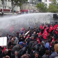 Adıyaman'da tütün protestosuna müdahale