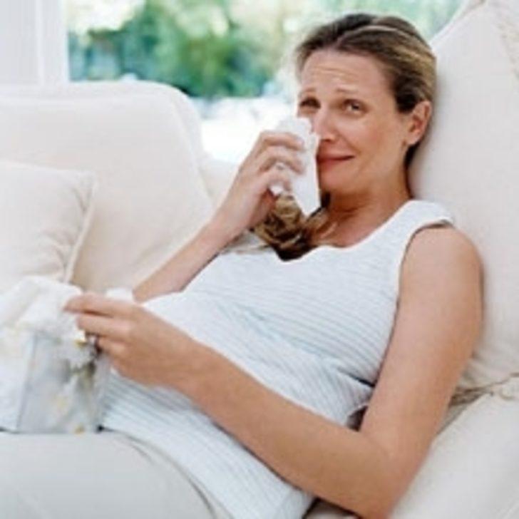 Слезы истерика во время беременности