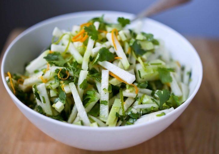Кольраби рецепты приготовления салаты с