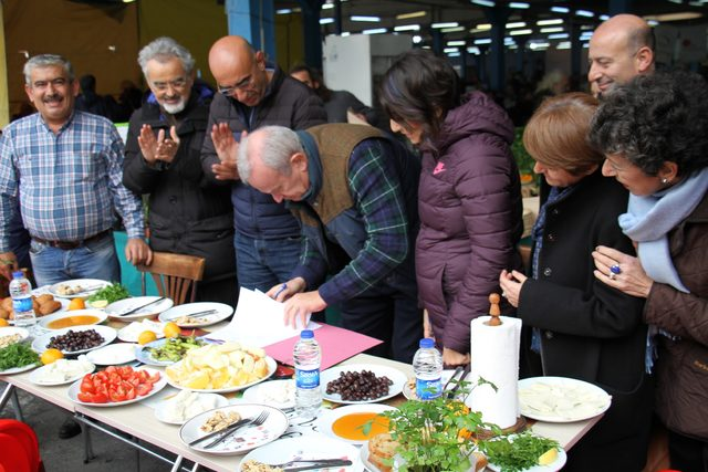 Türkiye'nin ilk organik pazarı 13'üncü yaşını kutladı