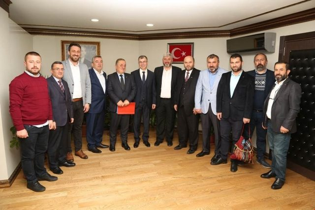DKİB'den Artvin Valisi Doruk'a