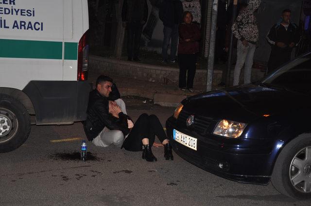 Hemzemin geçitte trenin çarptığı kadın öldü