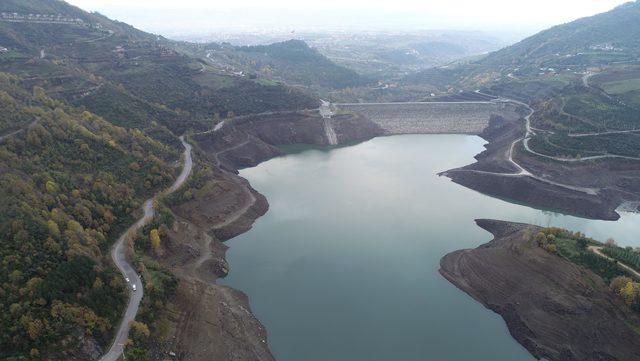 Yuvacık Barajı'nda su seviyesi yüzde 18'e düştü