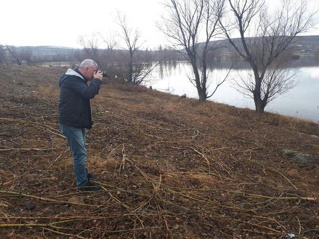 Baraj suları altında kalan ağaçlar kirlilik oluşturacak