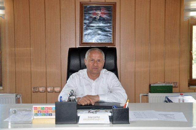 """Belediye Başkanı Çaylı; """"Ne söz verdiysek yaptık, yapacağız"""""""