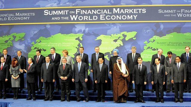 Washington'da 2008'de toplanan ilk G20 zirvesi