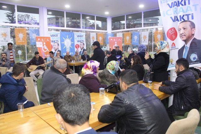 AK Parti'den engellilerle kaynaşma etkinliği