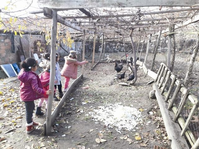 Sungurlu'da öğrenciler ekmeklerini israf etmeyecek
