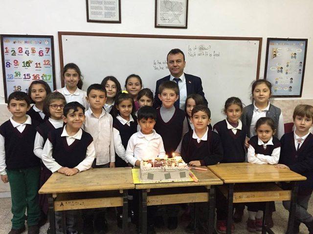 Sungurlu'da 487 öğrencinin doğum günü kutlandı
