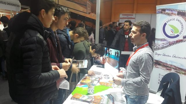 Sakarya'da Düzce Üniversitesi tanıtıldı