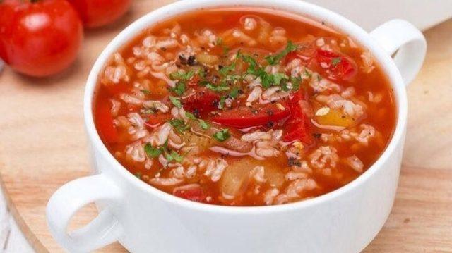pirinç çorba