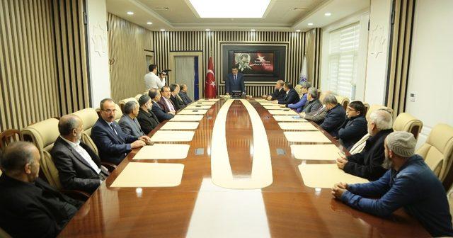 Başkan Gürkan STK temsilcileri ile bir araya geldi