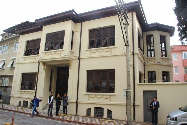 Atatürk'ü kaldığı ev yeniden restore edildi
