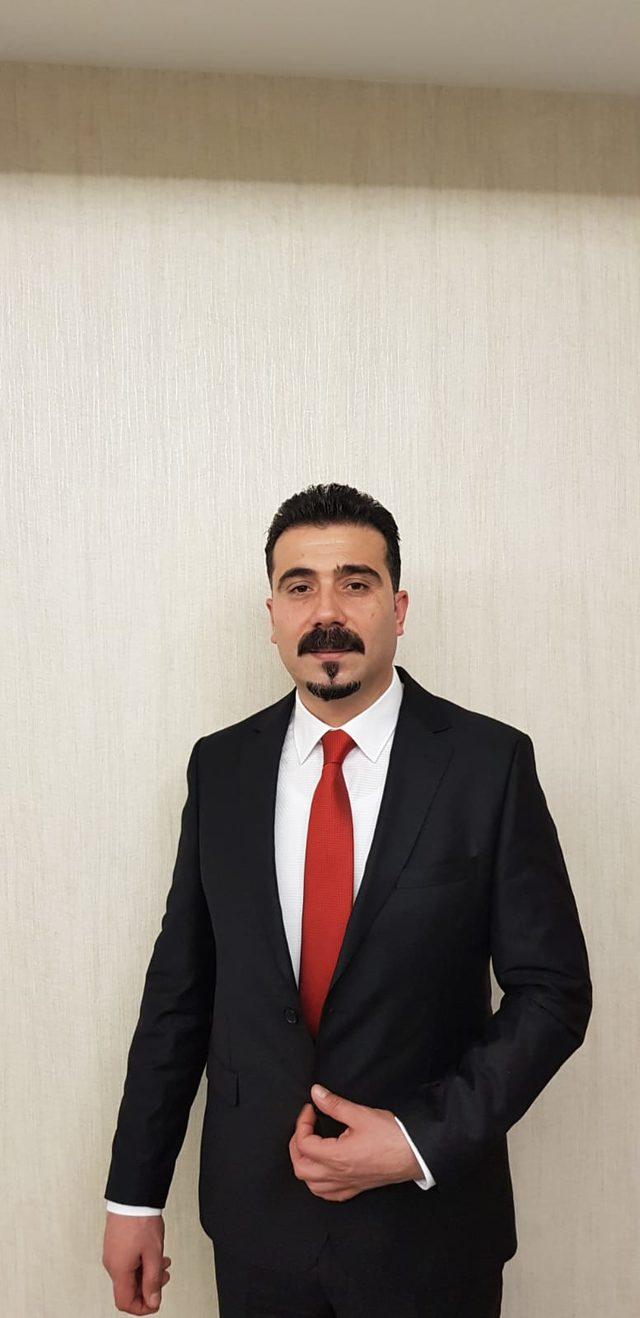 AK Parti'nin Tunceli adayı Gökhan Arslan oldu