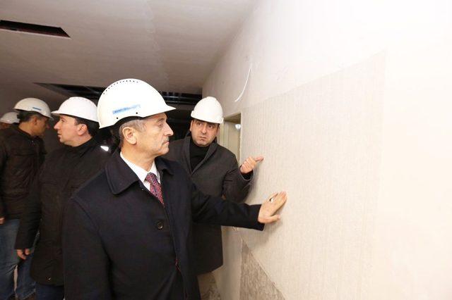 Şahinbey'de bölgenin en büyük kongre merkezi inşa ediliyor