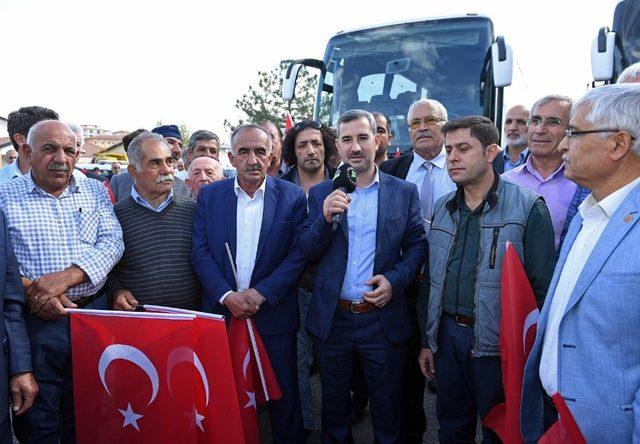 Belediye Başkanı Mehmet Çınar'dan muhtarlarla istişare toplantısı