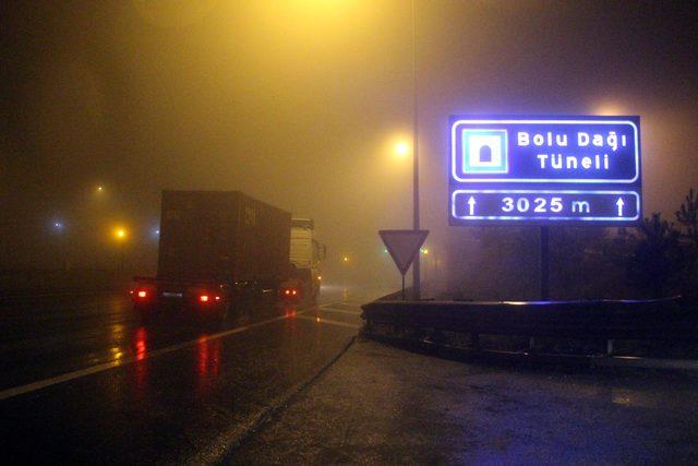 Bolu Dağı Tüneli'nin Ankara istikameti 19 gün sonra ulaşıma açıldı