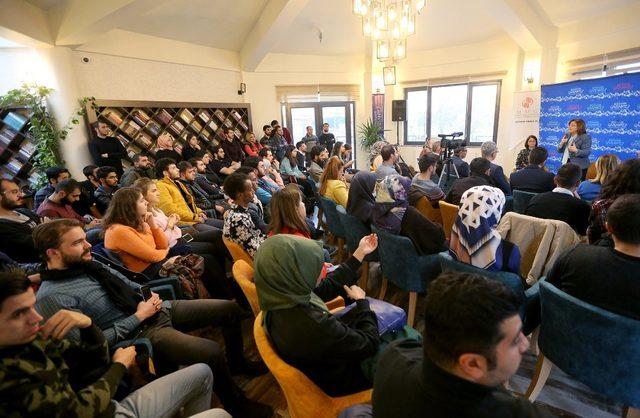 Başkan Fatma Şahin deneyimlerini gençlerle paylaştı