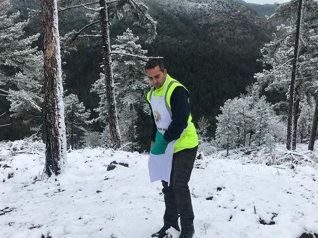 Kaymakam kar çamur demedi ağaç dokunu dikti