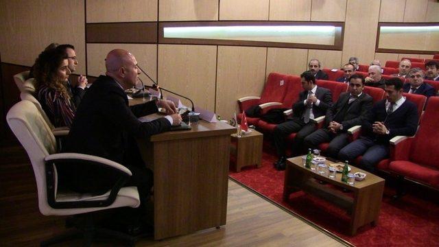 Hopa'da Gürcistan'a yapılan ticareti konuştular