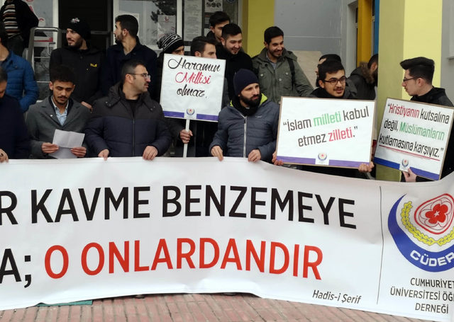 Cumhuriyet Üniversitesi Öğrenci Derneğinden Milli Piyango ve yılbaşı tepkisi: Sen Müslümansın 19