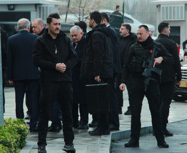 Cumhurbaşkanı Erdoğan AK Parti İl Binasında