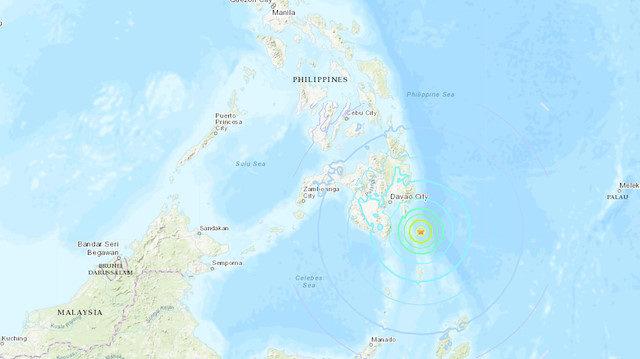 filipin deprem