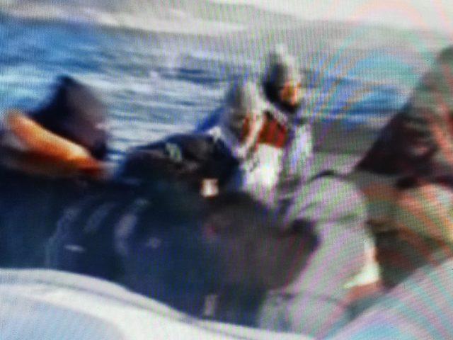 Bodrum'da sürat teknesinde 17 kaçak göçmen yakalandı