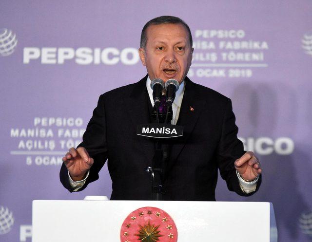 Cumhurbaşkanı Erdoğan Manisa'da iki fabrika açtı