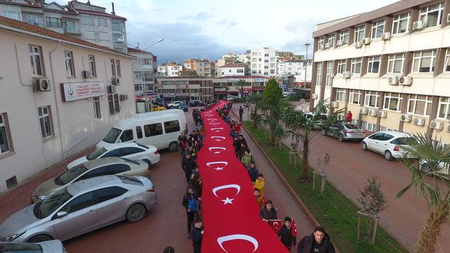 Sarıkamış şehitleri, Sinop'ta anıldı