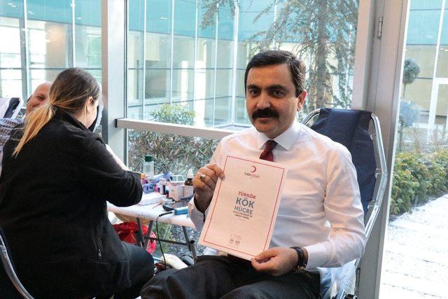 Kan ve Kök Hücre bağışına Kırşehirliler 'den destek