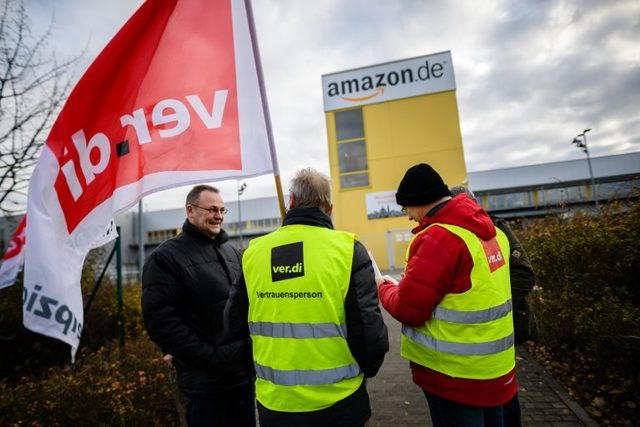 Almanya'da Aralık ayında düzenlenen Amazon grevi