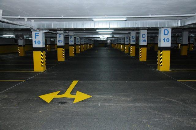 Belediye'den 6 bölgede ücretsiz otopark hizmeti