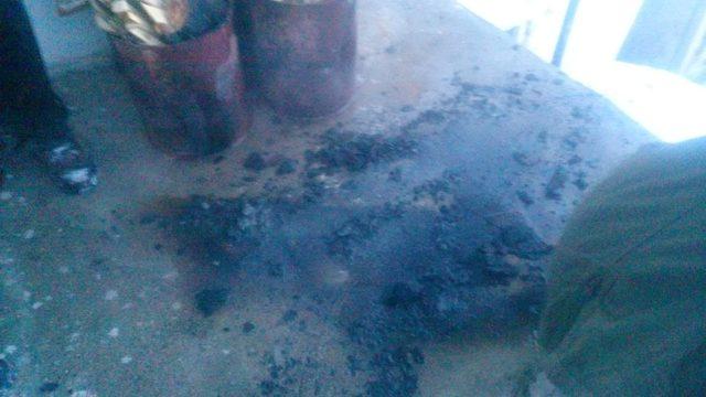 Mutfak tüpü patladı, 1 kişi yaralı