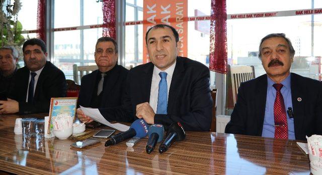 Başkan Berge, gazetecilerle bir araya geldi