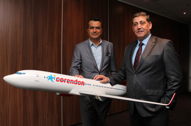 Türk yatırımı olan, Benelüx'ün en büyük otelinin bahçesine dev uçak