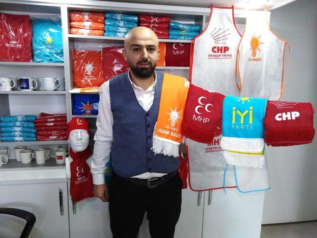Afişsiz seçim kampanyası işletmecileri farklı ürünlere yöneltti