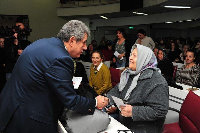 Balçovalı kadınlar üreterek güçleniyor