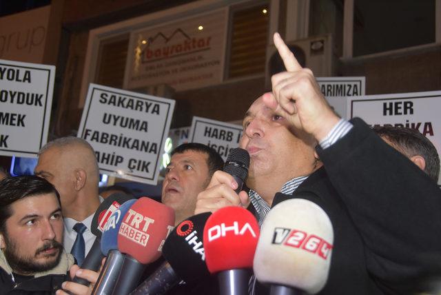 CHP'li vekillerden 'Tank Palet' işçilerine destek