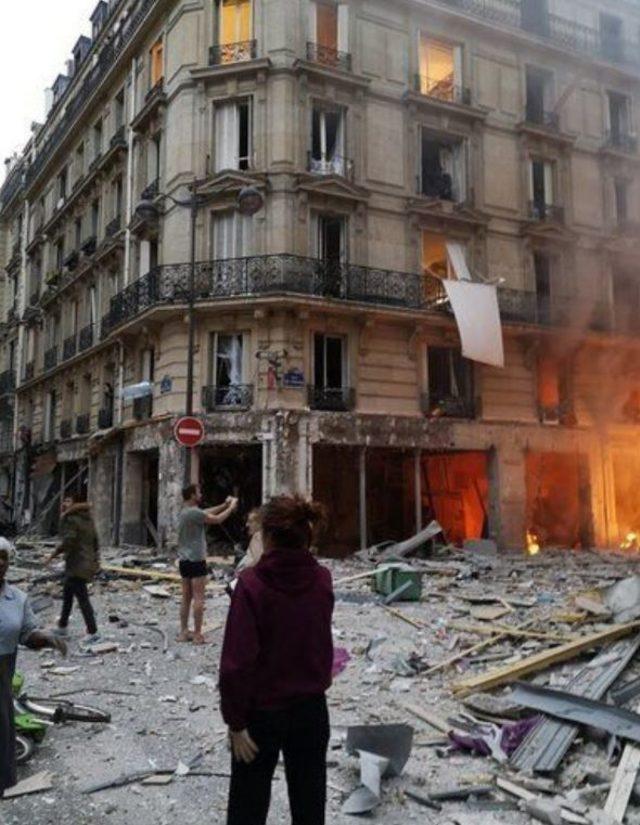 paris patlama görüntüsü