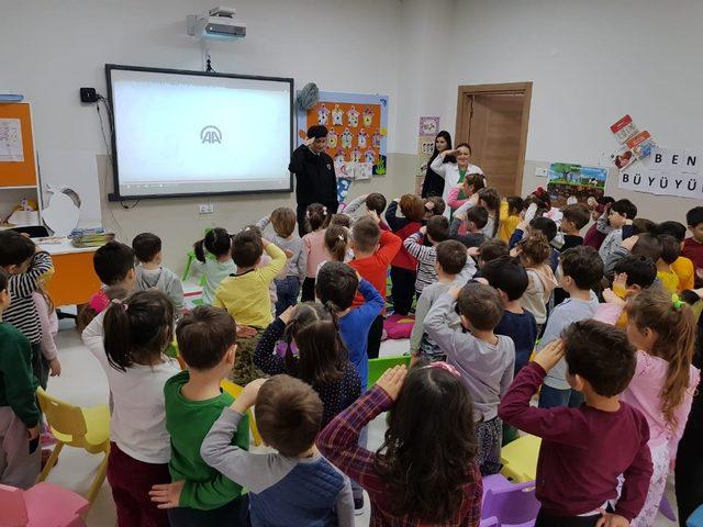 Anaokulu öğrencilerine Jandarma tanıtıldı