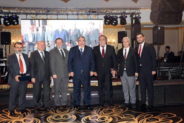 SANKO holding Basın - Yayın Müdürü Cengiz Halil Çiçek'e plaket