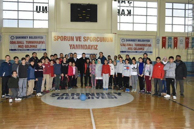 Şahinbey Belediyesi'nden Goalball turnuvası