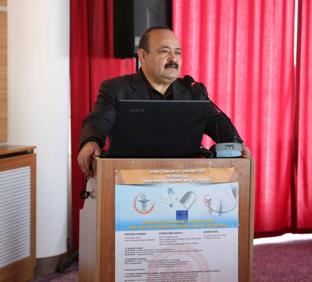 Sivas'ta KKKA hastalığı için çalıştay