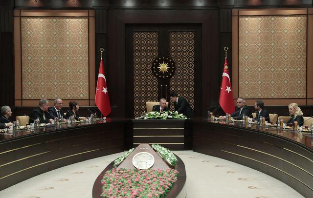 Cumhurbaşkanı Erdoğan, sinema sektörünün temsilcileri ile bir araya geldi