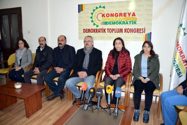 HDP'li vekillerden Leyla Güven'e destek nöbeti