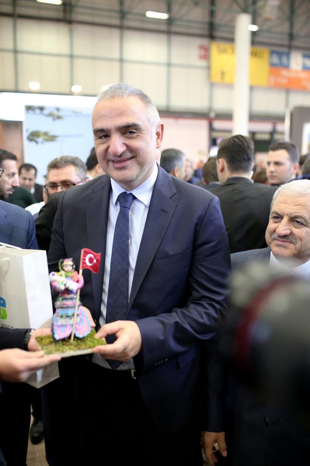 Turizm Bakanı Ersoy: Yurt dışında yaptığımız tanıtım bütçelerini çok ciddi oranda artırdık